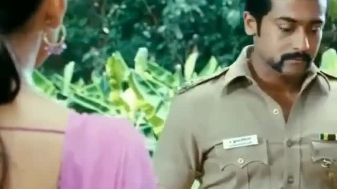 Cute love proposal scene in Singam || Surya's cute expression..