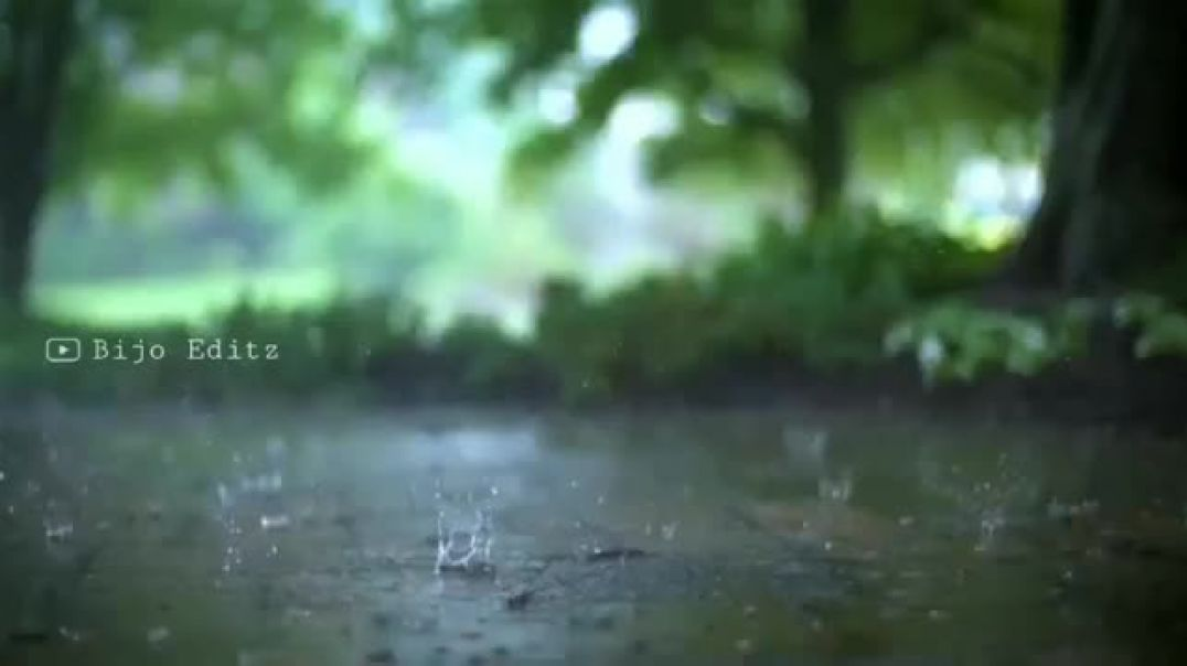 Rainy day WhatsApp status to download || Adai mazhai flute song video status